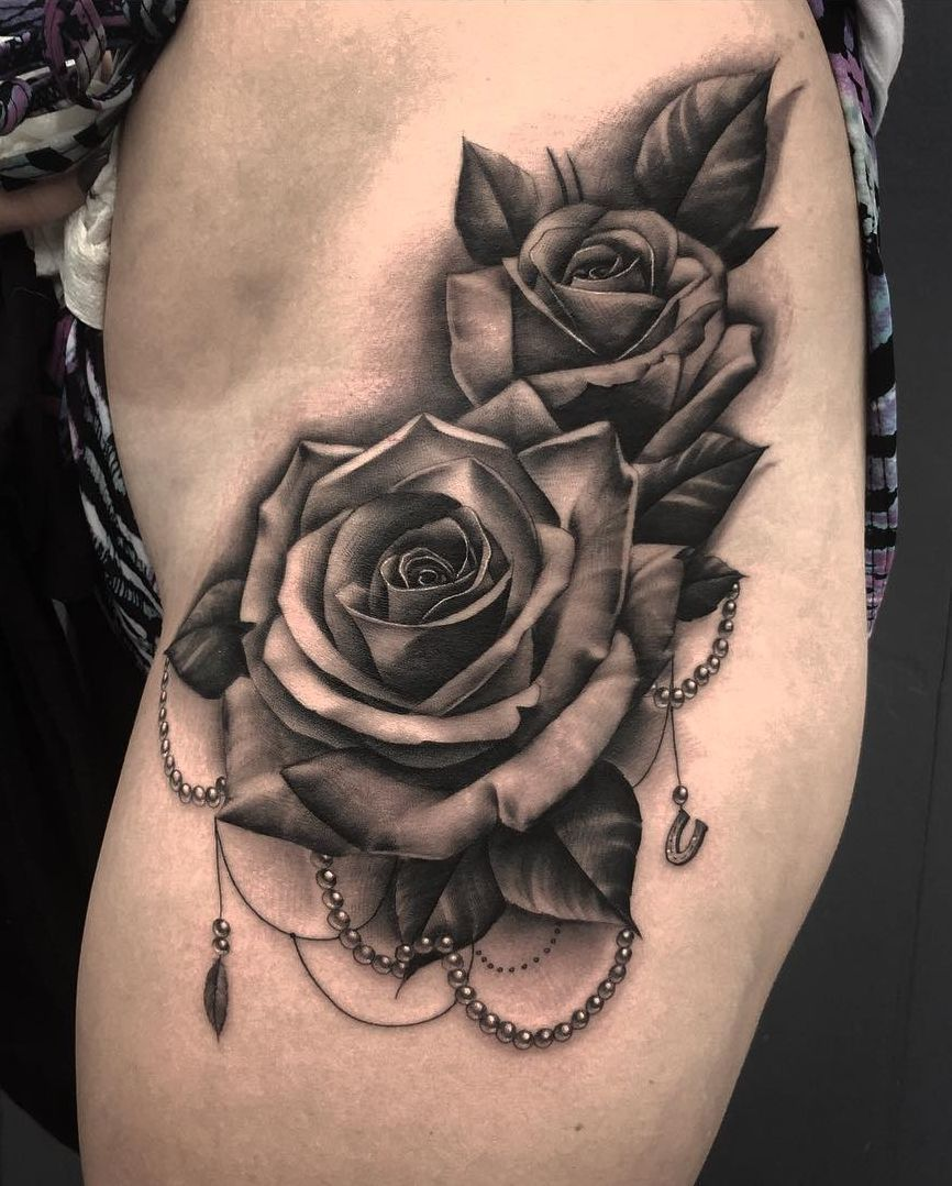 Photo of Feed your ink addiction with 50 of the most beautiful rose tattoo designs for men …