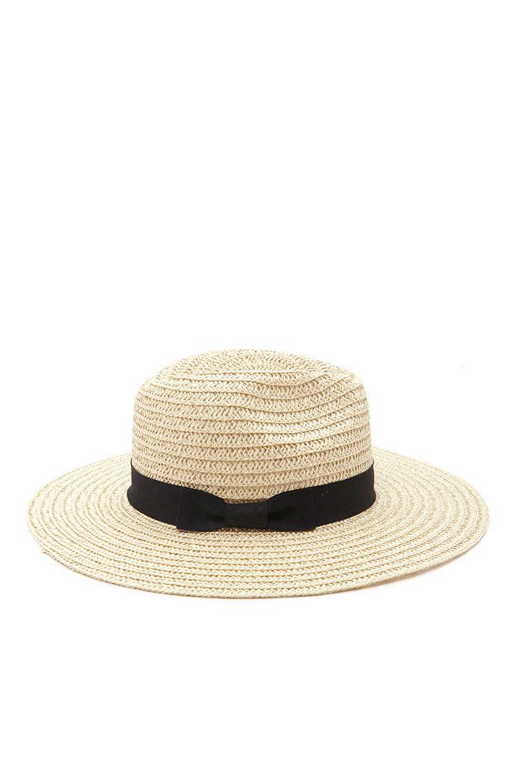 13933efa3c26c Wide-Brim Straw Fedora | Fashion Accessories | Fashion, Hats, Straw ...