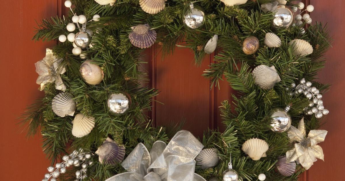Ideas para el list n de malla en las guirnaldas navide as for Vegetacion ornamental