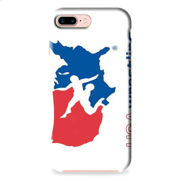 Usa Wrestling Logo Iphone 8 Plus 3d Case Logos 3d And Bump