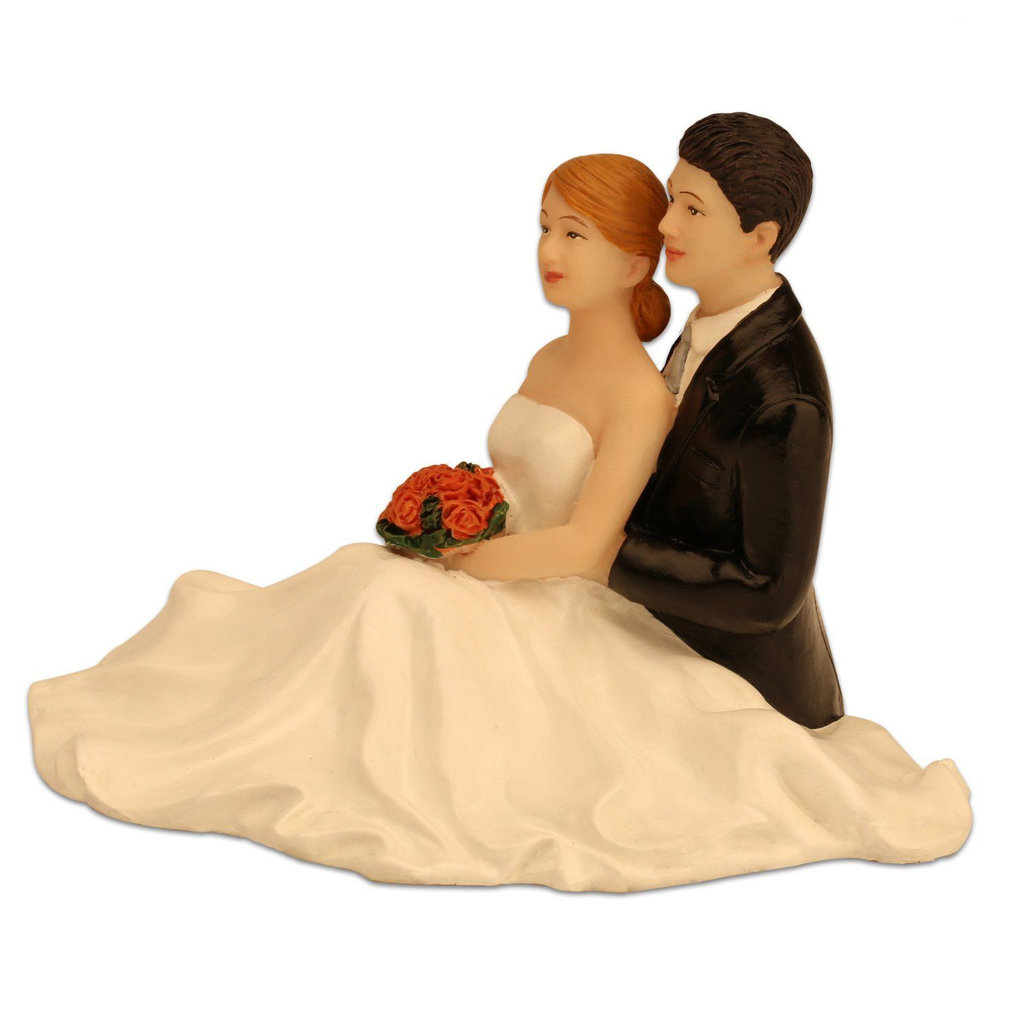 Ming People Weddling Couple Figurine Sitting Bride And Groom Cake Toppers More Info Could Be Found At The Im Bride And Groom Cake Toppers Grooms Cake Groom