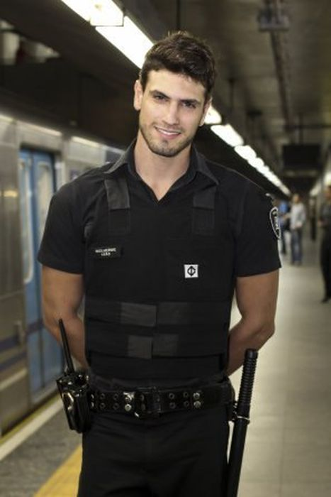 Sexy guys in uniform