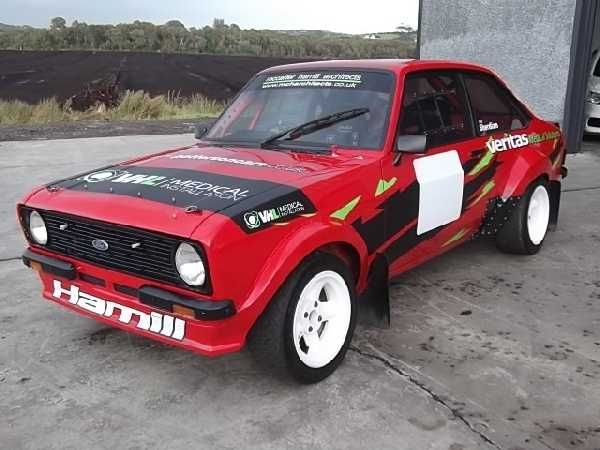 Ford Escort Mk2 Grp 4 Rally Car: Ford Escort MK 2 Full Group 4 Spec On A Series 2