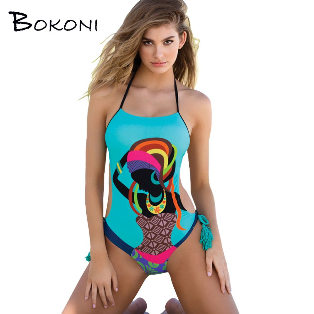 Sports & Entertainment One Piece Swimwear Women 2017 Printed Swimsuit Surf Body Suit Bathing Suit Beach Wear Swimming Set Mayo Maillot De Bain Femme