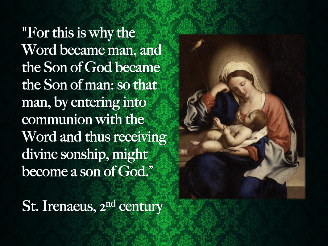 LOOKING FOR ANGELS: Saint Irenaeus  Reflections on the Holy Spirit