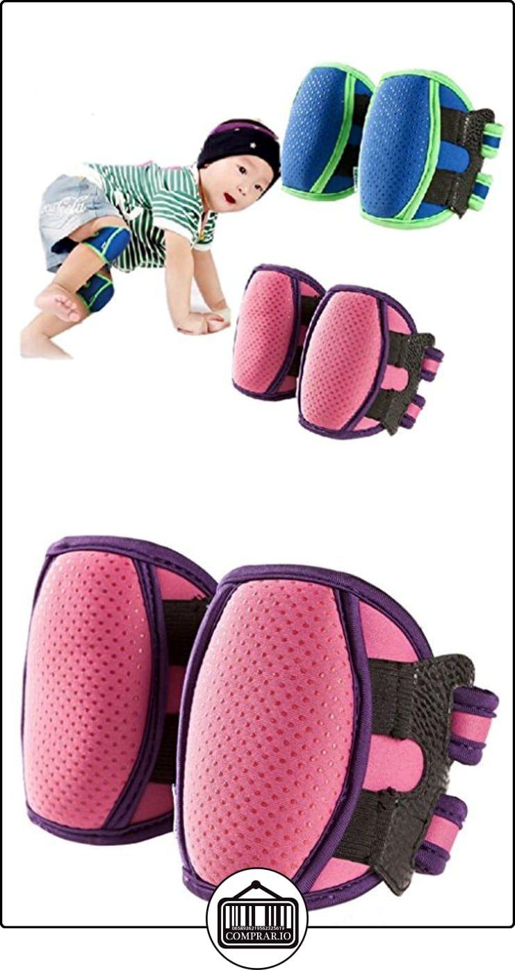 V-SOL 1par Bebé Rodillera Codera Protector Para Aprender Escalar (Rosa)  ✿ Seguridad para tu bebé - (Protege a tus hijos) ✿ ▬► Ver oferta: http://comprar.io/goto/B01DP3ATUE