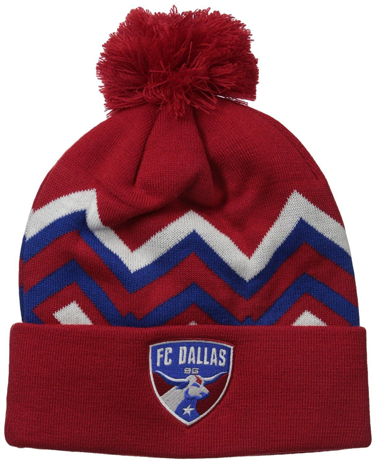 cheap for discount f9011 038d1 ... shopping fc dallas mls mens cuffed knit with pom price 10.22 9d74f 8234f