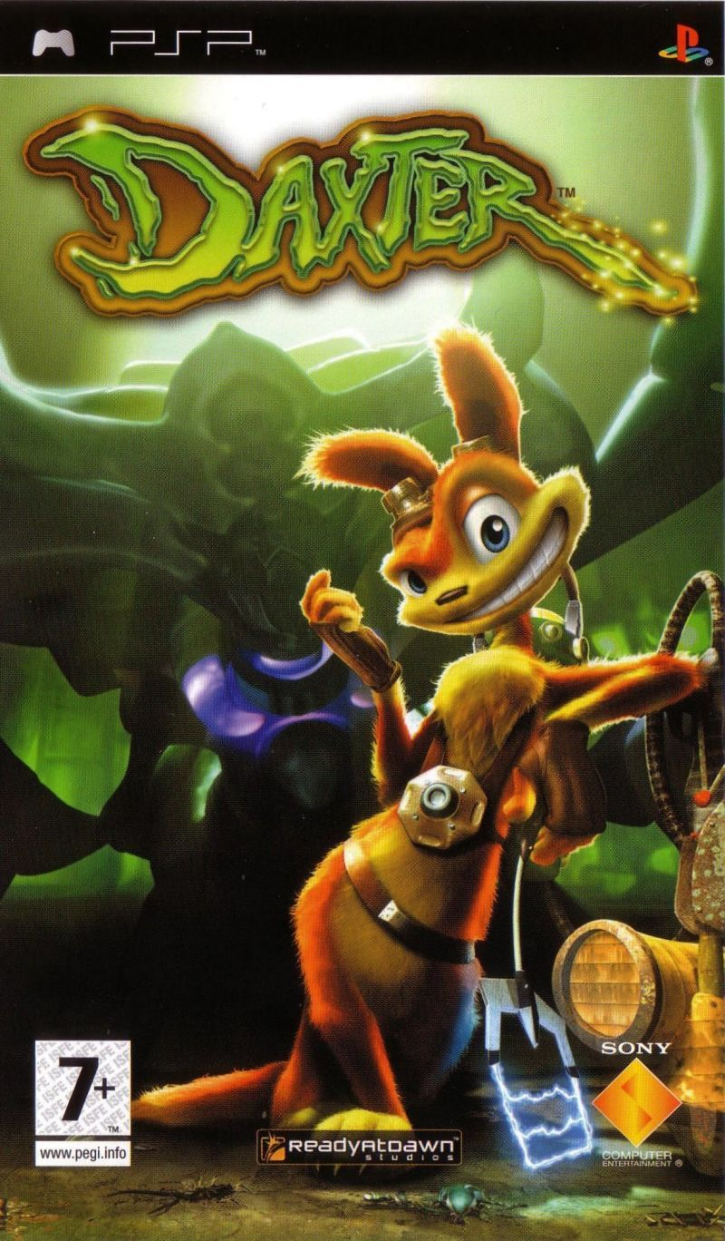 Cover Art For Daxter Psp Database Containing Game Description Game Shots Credits Groups Press Forums Reviews Release Dates Psp Playstation Cover Art