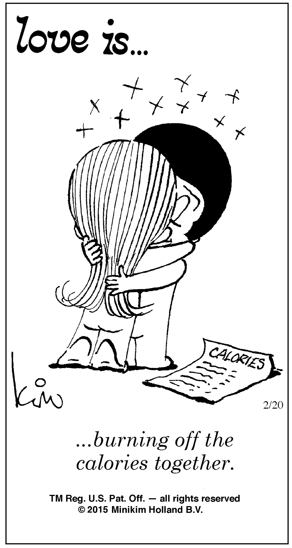 Love is...Daily Cartoon Bill Asprey Cartoons & Comic