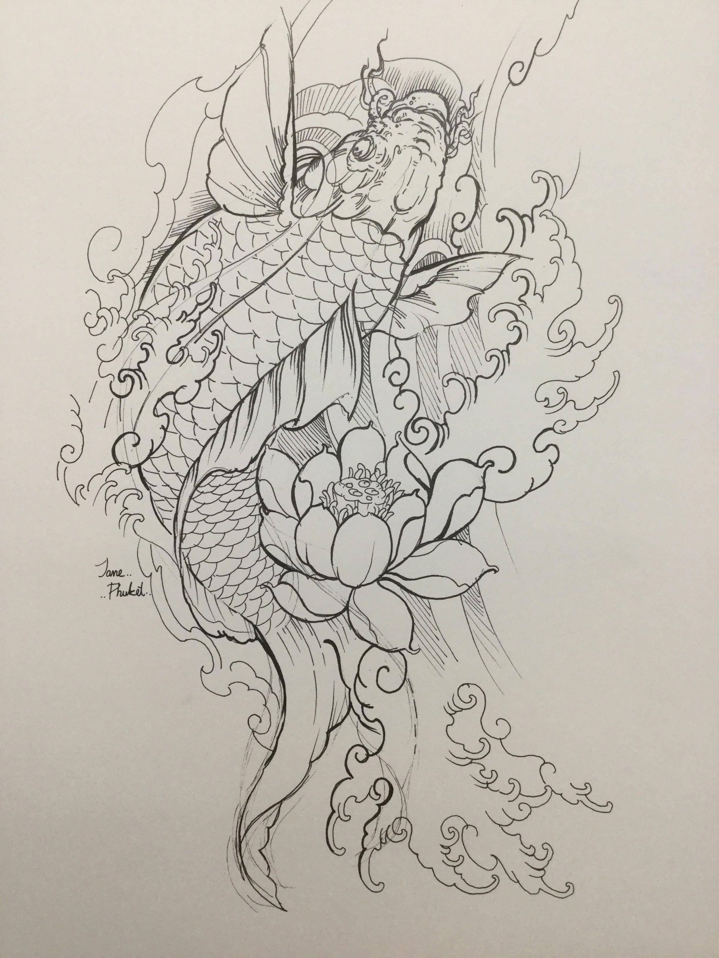 Read About Dragon Koi Fish Tattoo Designs Find Out About The Type Of Tattoo You Would Like You Ne Japanese Tattoo Art Koi Fish Tattoo Koi Fish Drawing Tattoo