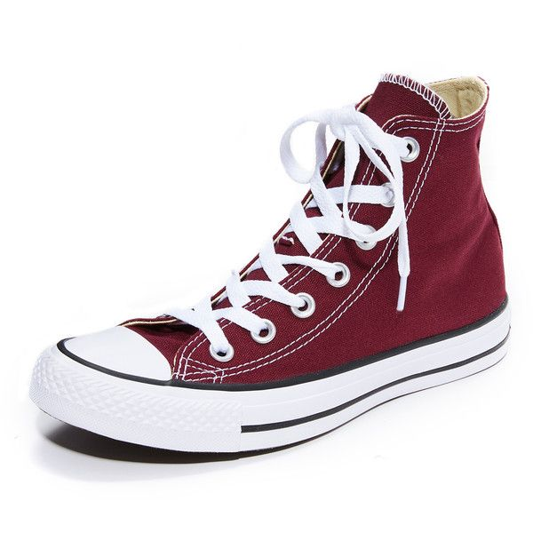 ab0d95dd82cc Converse Chuck Taylor All Star High Top Sneakers ( 60) ❤ liked on Polyvore  featuring shoes
