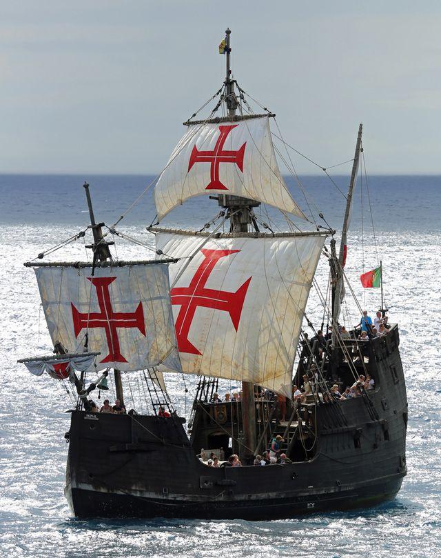 Explorers May Have Found Wreck Of Christopher Columbus Flagship Santa Maria Gcaptain In 2020 Sailing Ships Sailing Old Sailing Ships