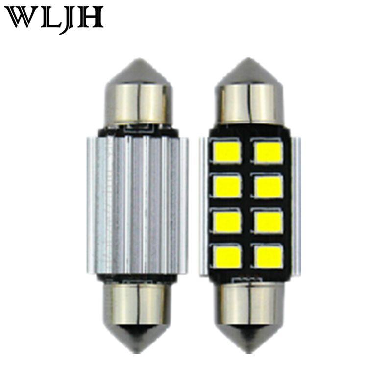 10pcs 12v Car Light 31mm 36mm 39mm 41mm Canbus C5w Led Light Bulb 2835 Smd For Audi Volkswagen Mercedes Benz Bmw E36 E46 E90 E60 In L Bmw E39 Lights Car Lights
