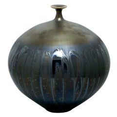 Vase By Hideaki Miyamura                    H 24 cmDm 23 cm