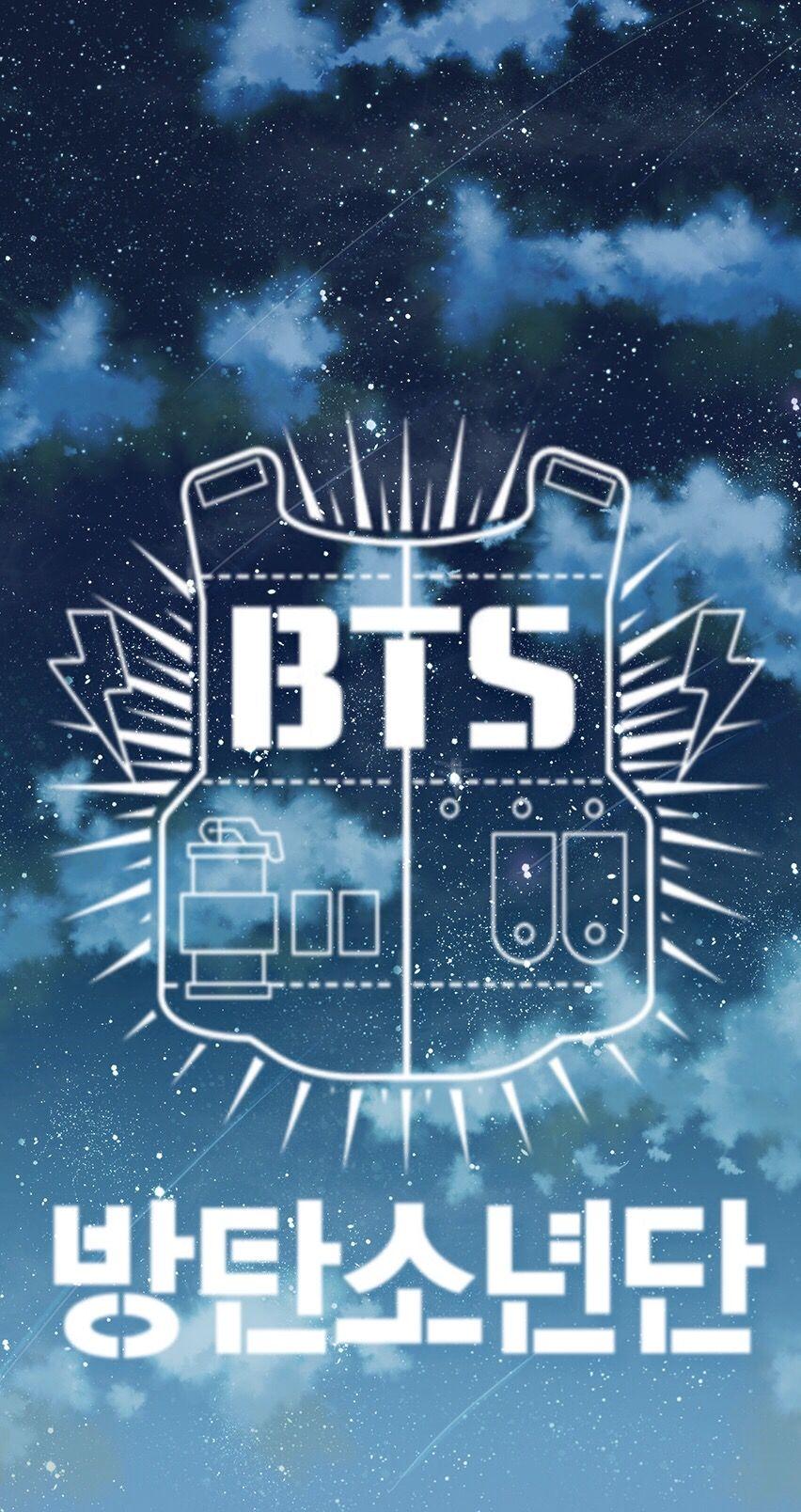 Bts Logo Wallpaper