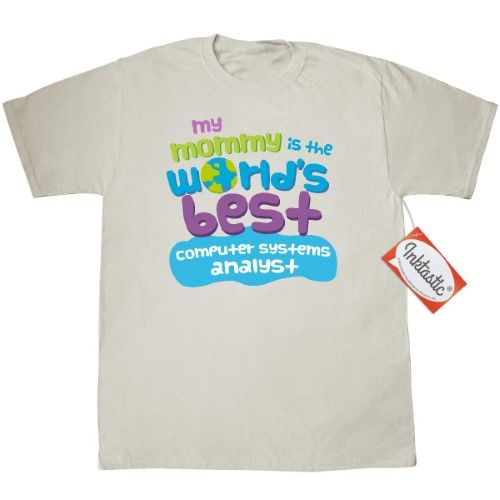 Inktastic Computer Systems Analyst Gifts For Kids T-Shirt Auditing