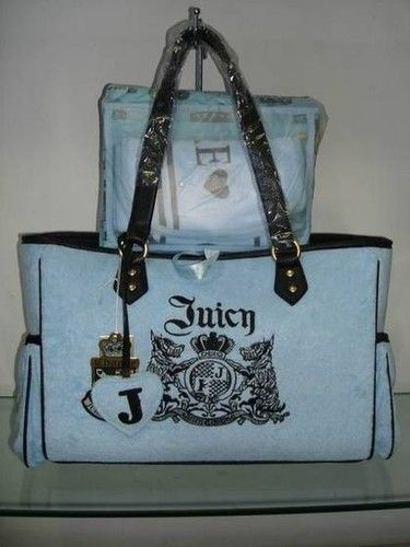 Blue Juicy Couture Diaper Bag Ebay