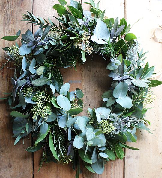 Photo of Foliage wreath tutorial – a quiet style