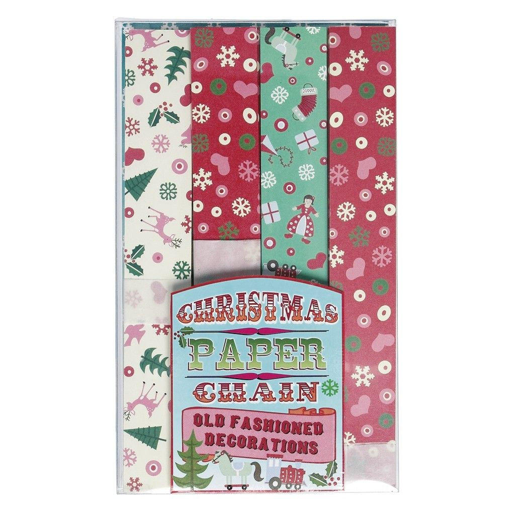 christmas paper chains kit