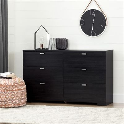 south shore furniture reevo 6 drawer double dresser 10258 | 8e763b50afb949f241911856ee91c595