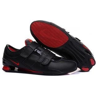 Schöne Nike Shox R3 Schuhe Magic Buckle Weiß rot : Nike Air