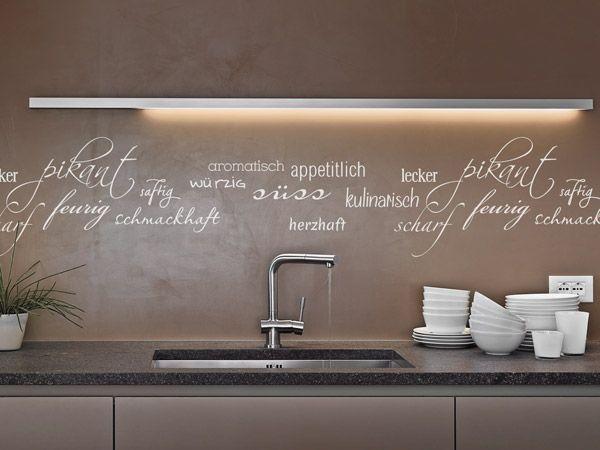 Bildergebnis für lichtleiste led küche diffusor Gartenwohnung - led lichtleiste küche