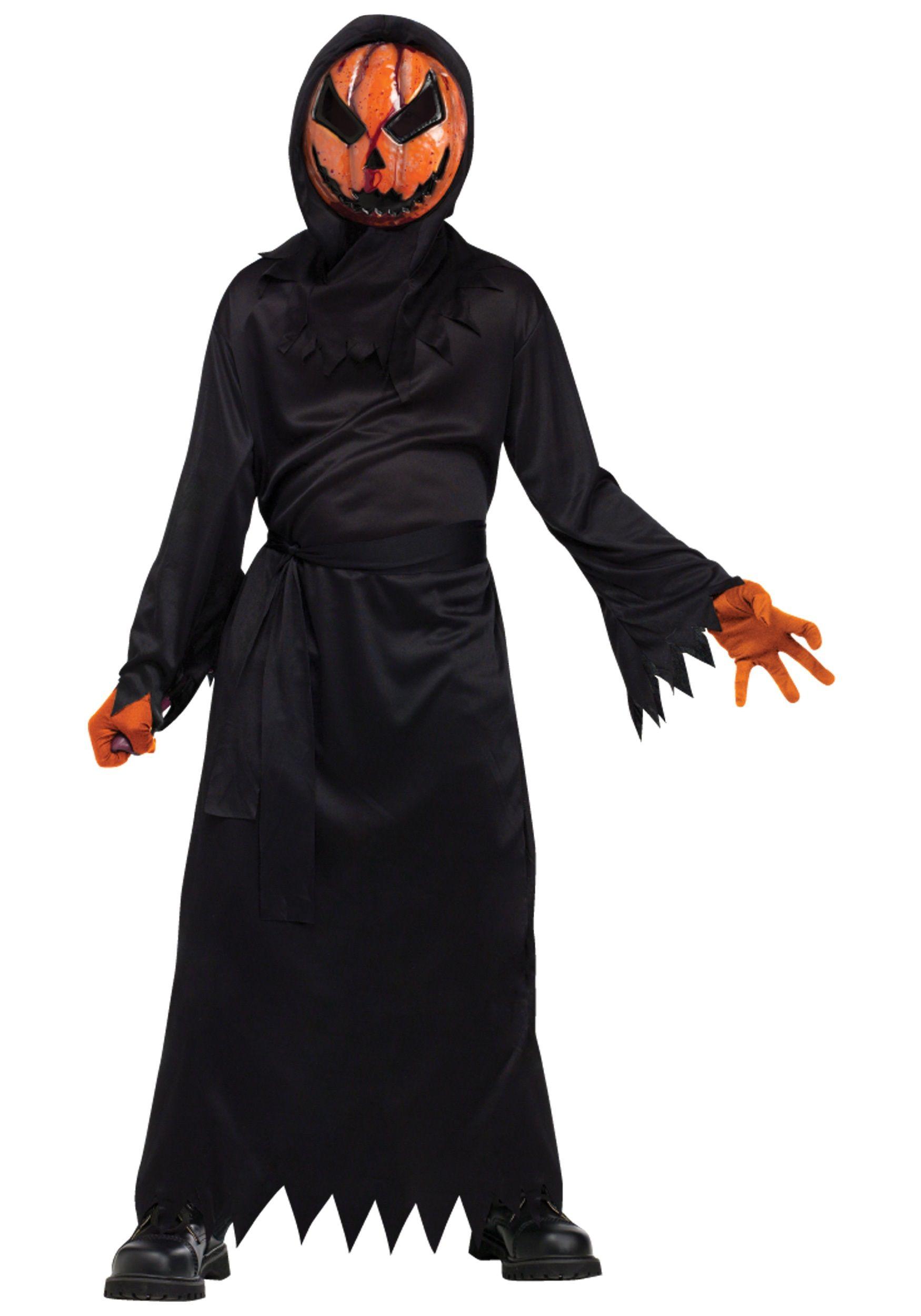 scary halloween costumes | scary pumpkin halloween costume