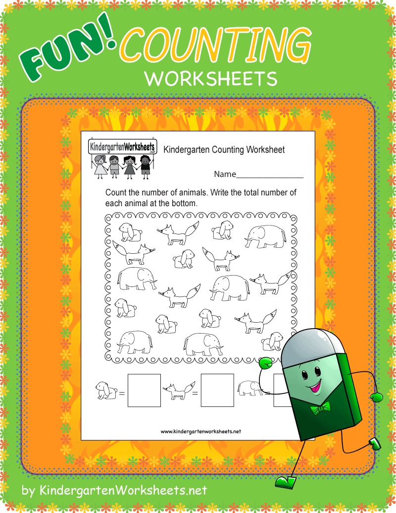 Kindergarten Counting Worksheets Counting Kindergarten Counting Worksheets For Kindergarten Kindergarten Math Free [ 1035 x 800 Pixel ]