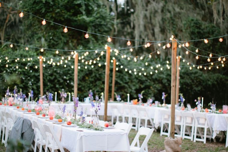 An Intimate Vintage Boho Wedding Every Last Detail Vintage Boho Wedding Wedding Backyard Reception Intimate Wedding Reception