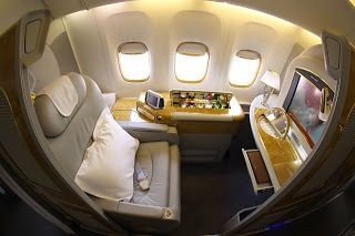 My First Class Suite, Emirates Airlines, Auckland-Sydney