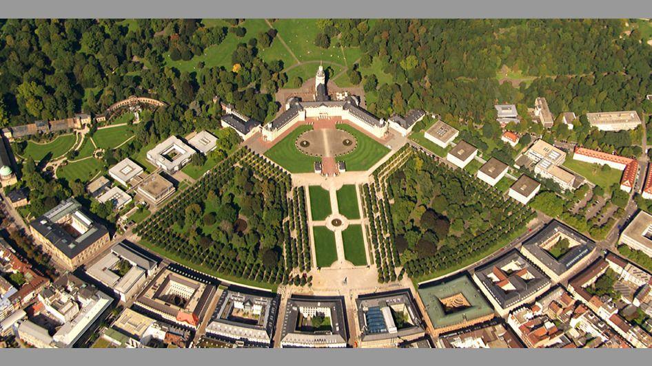 Deutschland Von Oben 2 Stadt Deutsche Stadte Karlsruhe Stadt