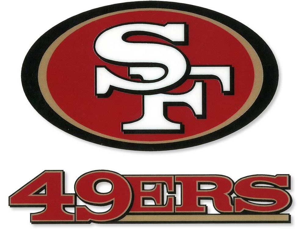 San Francisco 49ers Static Cling Decal