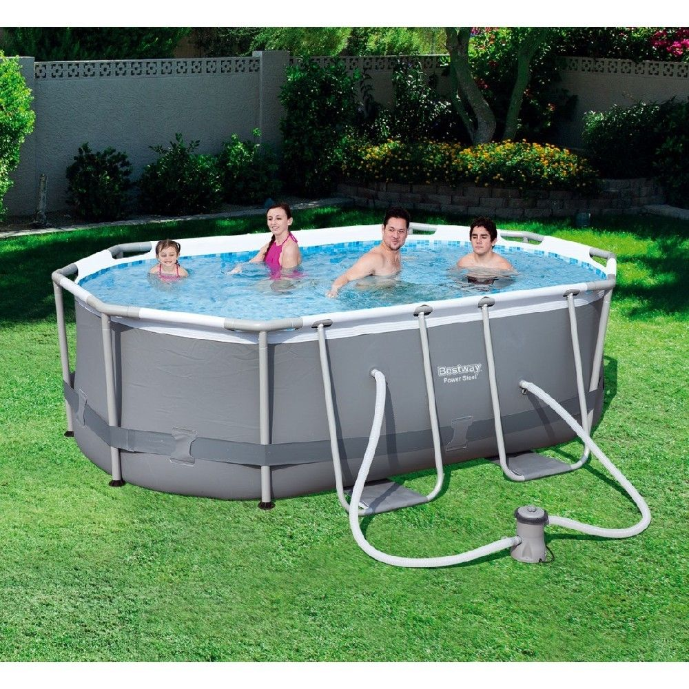 Piscine Tubulaire Bestway Power Steel 300 X 200 X H 84 Cm Piscine Tubulaire Piscine Tubulaire Bestway Piscine