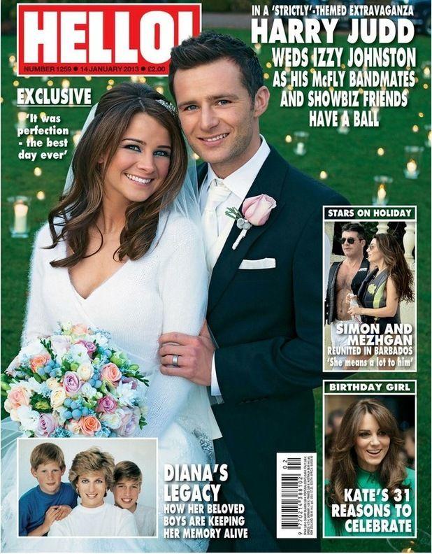 McFly Harry Judd Wedding was perfection Hello magazine