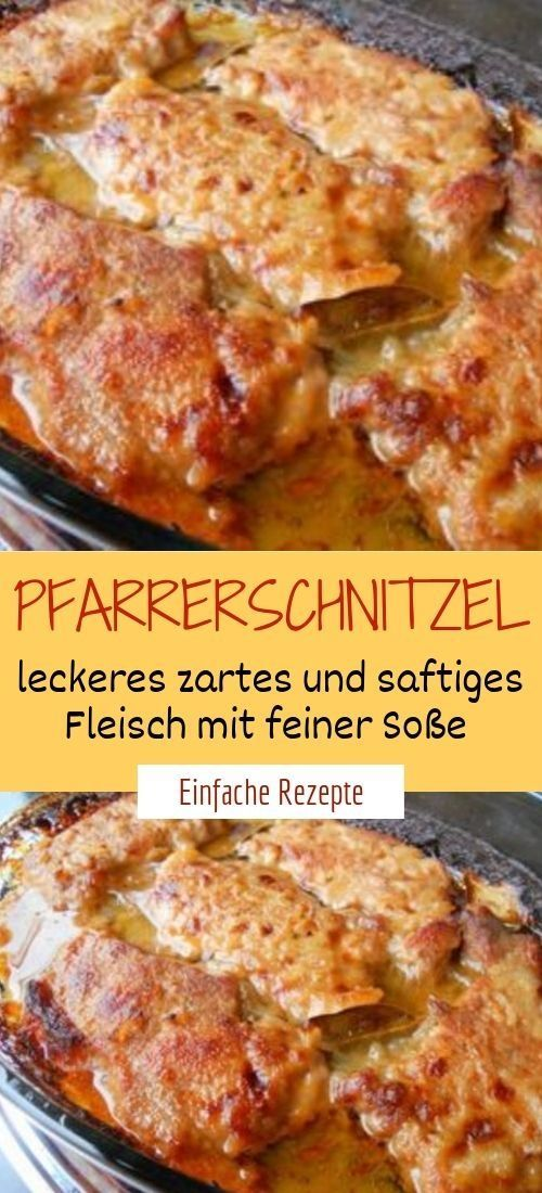 Photo of Priest schnitzel – delicious tender and juicy meat with …