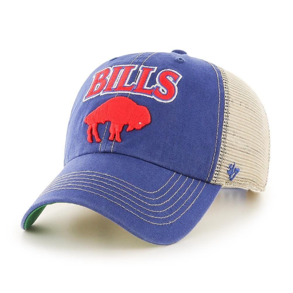 36255e6d 47 Brand Throwback Tuscaloosa Buffalo Bills Mesh Hat | Buffalo Bills ...