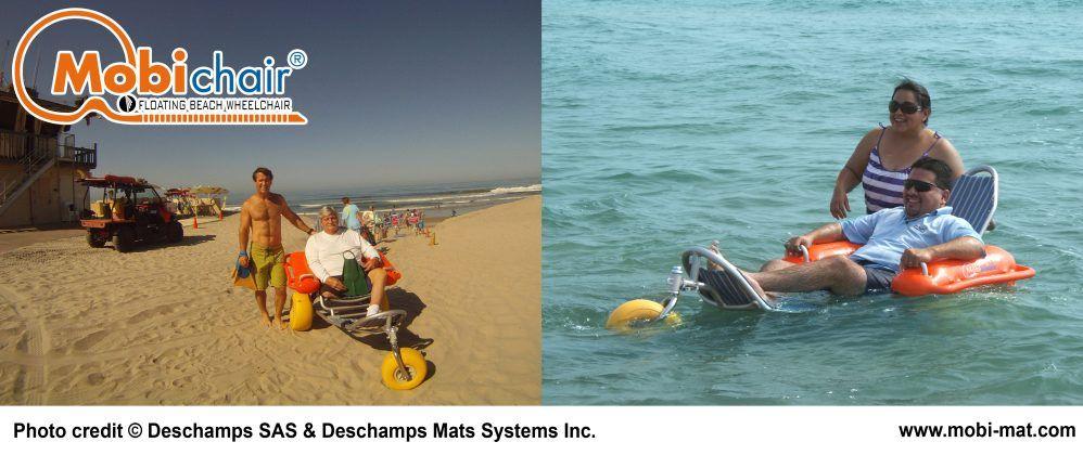 Mobi Chair Floating Beach Wheelchair Floating Wheelchair Seamless Transition