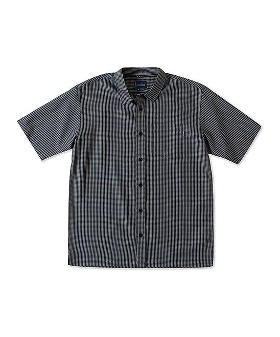 Black Ford Button-Up