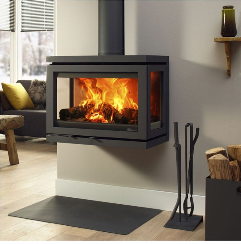 Modern Contemporary Wood Multi Fuel Stoves With Large Glass Windows We Supply And Fit All These Wo Wood Stove Modern Stoves Contemporary Wood Burning Stoves