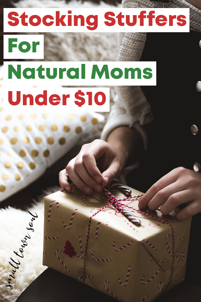 Dont Stress Over Stocking Stuffers For Natural Moms There Are Lots Of Options