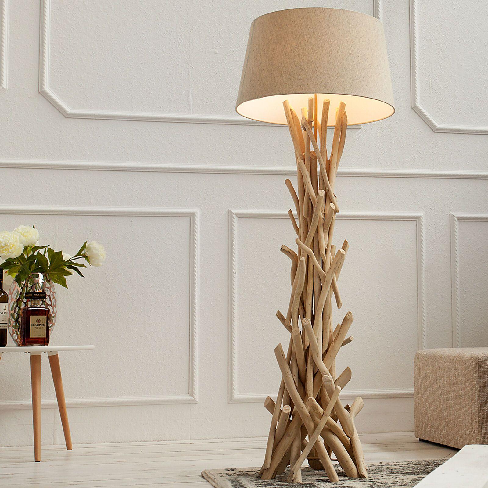 Details Zu Treibholz Stehlampe Wild Nature 155cm Stehleuchte Lampe
