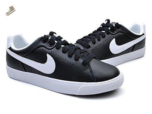 Nike Womens Court Tour Skinny Leather Black White 532364 010 6 5 B M Us Nike Sneakers For Women Amazon Partne Leather Shoes Brand Nike Women Nike Leather