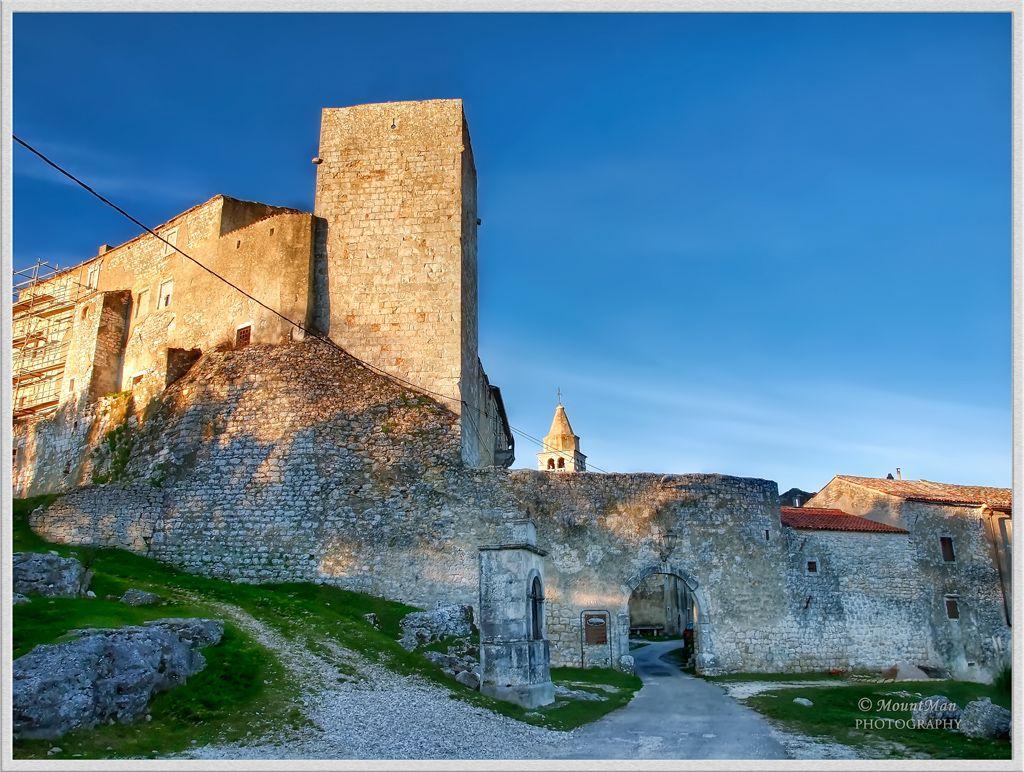 Castle Krsan Istria Travel Croatia National Parks