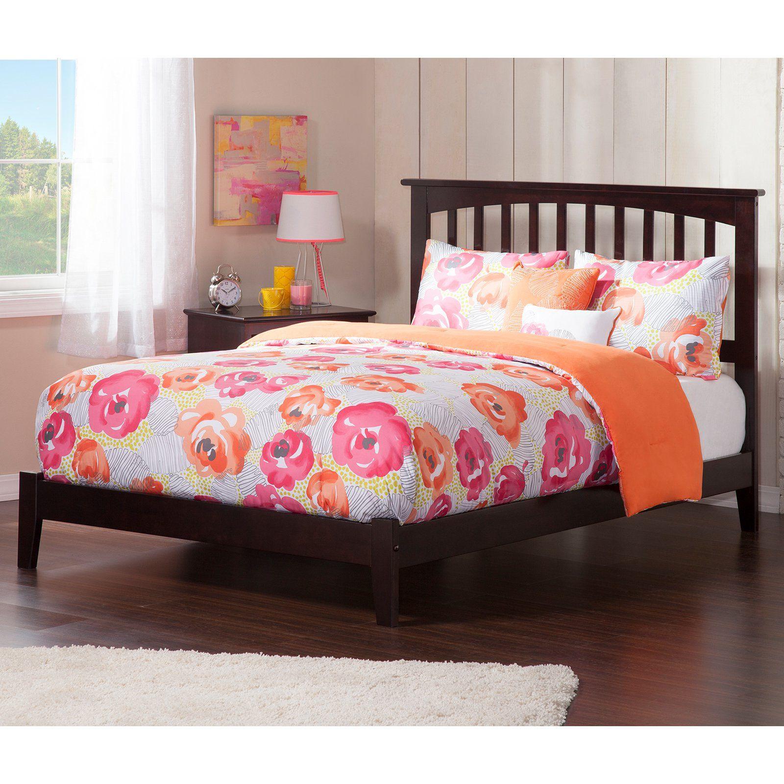 Atlantic Furniture Mission Traditional Platform Bed