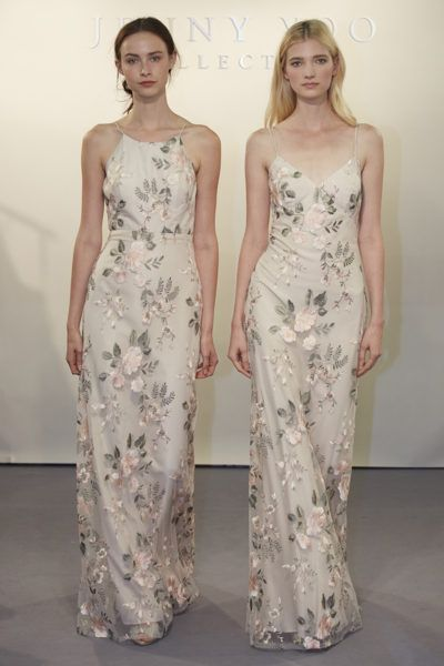 ffa399c75958c Jenny Yoo's 2017 Spring Collection - Claire (left) and Julianna (right) in  Blush