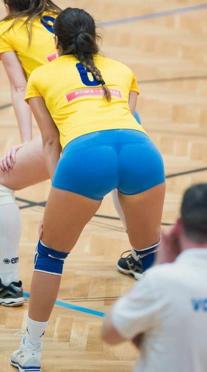 Girls sport voyeur athletics