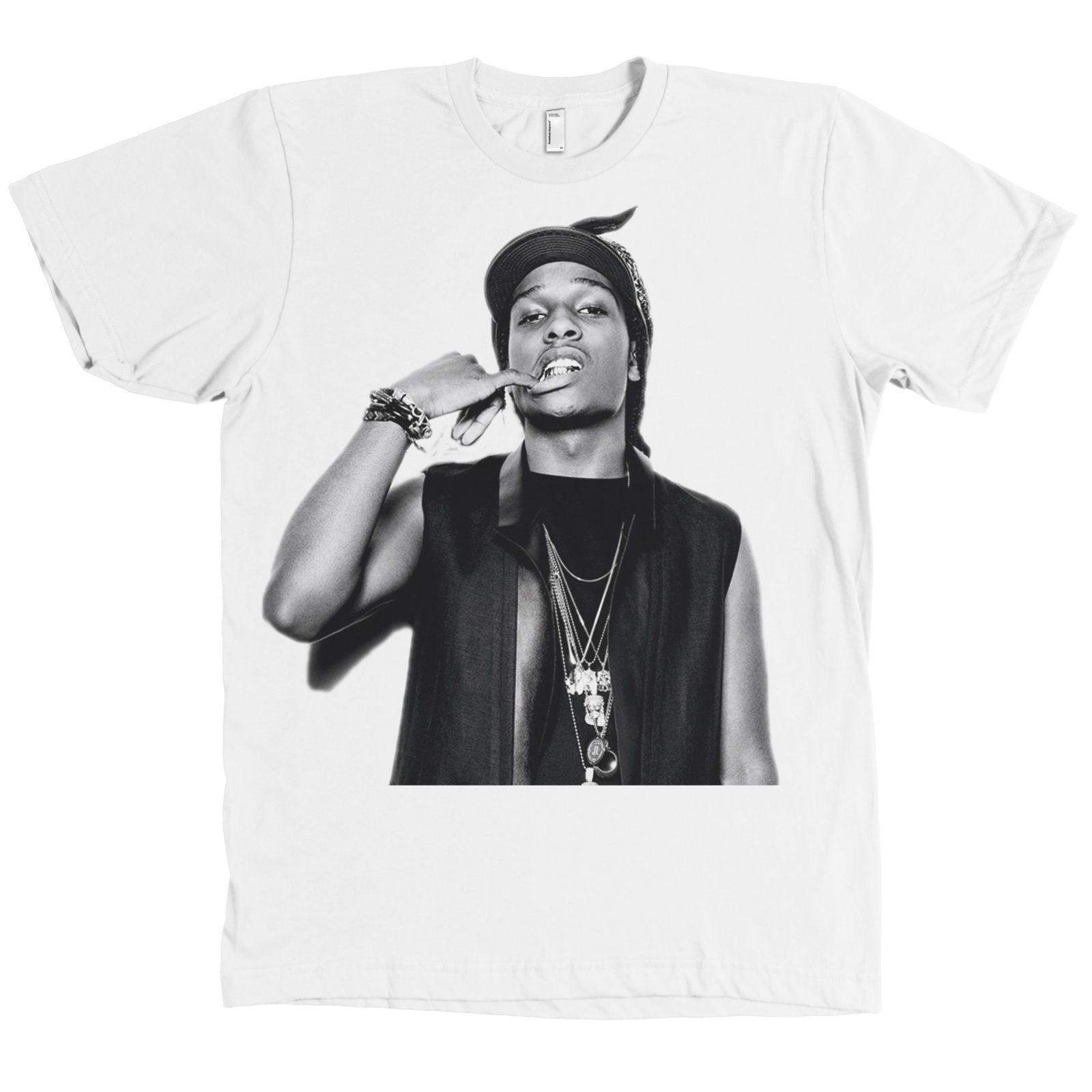 ASAP ROCKY T-Shirt A$AP Savage Hip Hop Rap Urban Streetwear Tee New