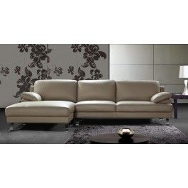 0698 - Modern Leather Sectional Sofa - 2099.0000