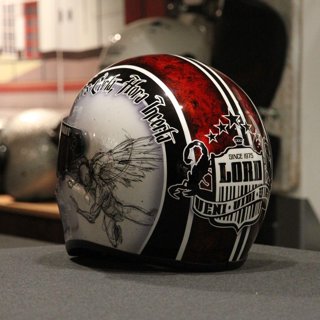 Helmets caferacer scrambler chopper racing - Casque moto course ...