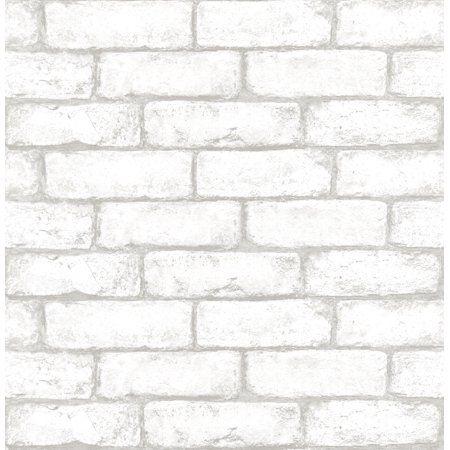 Home Improvement White brick wallpaper, Brick pattern